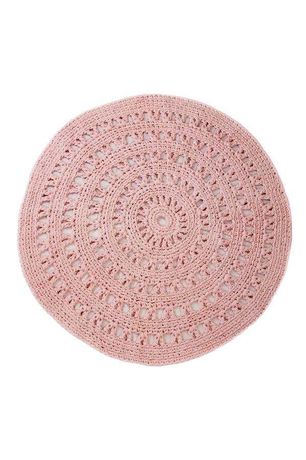 gehaakt katoenen kleed arab baby roze large