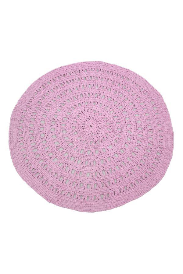 gehaakt katoenen kleed arab bubblegum roze xlarge