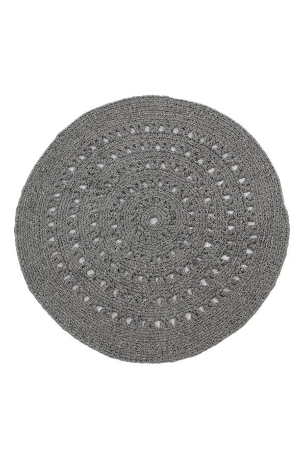 gehaakt katoenen kleed arab graniet grijs xlarge