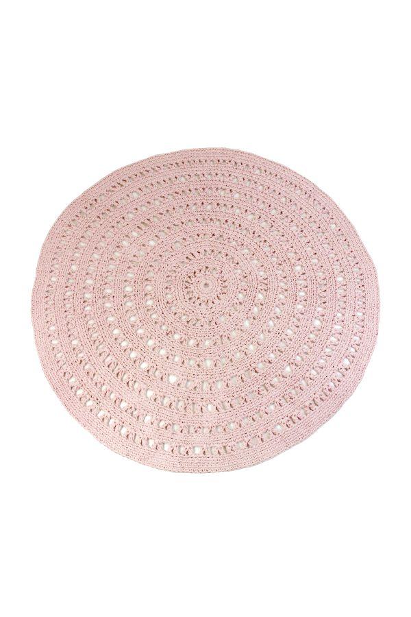 gehaakt katoenen kleed arab poeder roze large