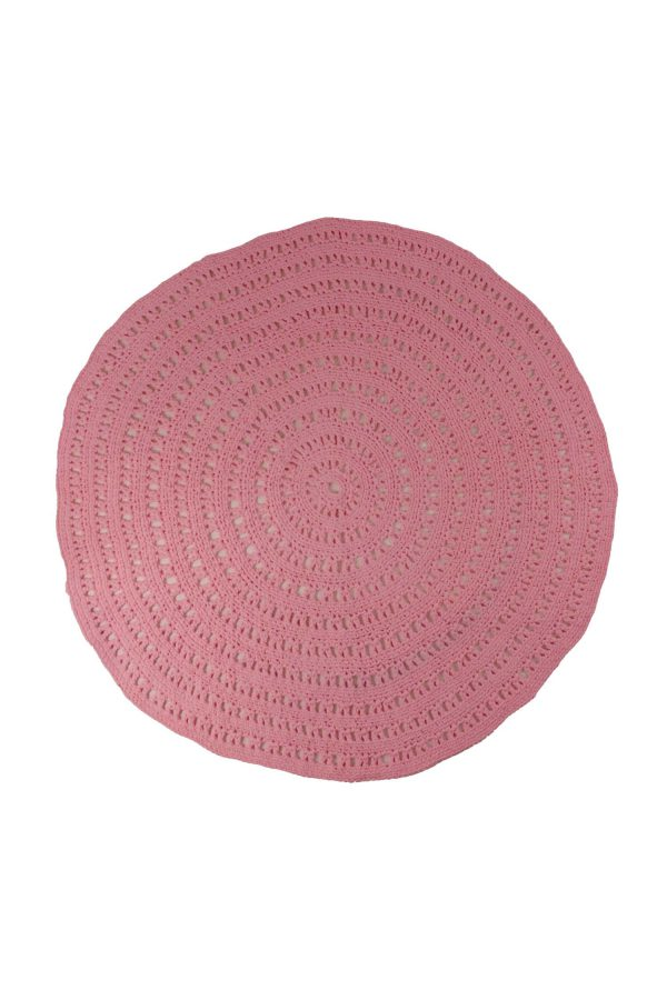 gehaakt katoenen kleed arab roze medium
