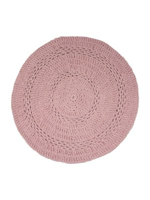 gehaakt katoenen kleedje peony oud roze small