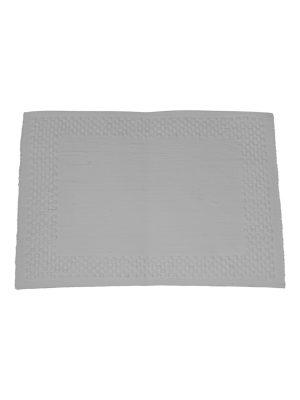 geweven katoenen placemat frame wit small