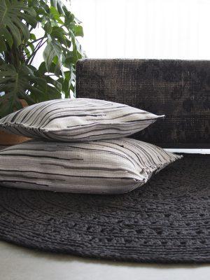 styling foto gehaakt katoenen kleed arab grijs