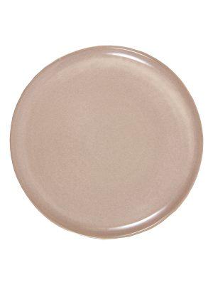 glaze ceramic aardewerk dessert bord poeder roze medium