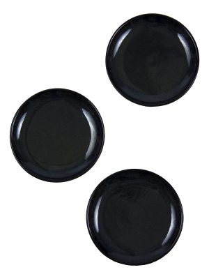 glaze ceramic aardewerk tapas bord ink small