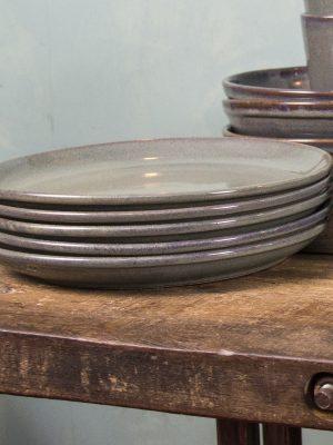 styling foto glaze ceramic aardewerk bord celadon xlarge