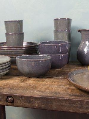 styling foto glaze ceramic aardewerk kan celadon large