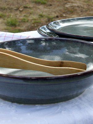 styling foto glaze ceramic aardewerk soep bord celadon medium