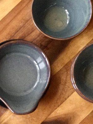 styling foto glaze ceramic aardewerk tapas schaal celadon small
