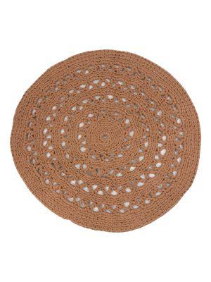 arab clay crochet cotton rug medium