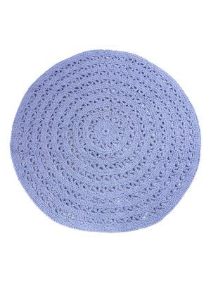 arab jeans blue crochet cotton rug xlarge