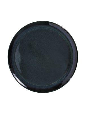 dinner plate ink glaze ceramic xlarge