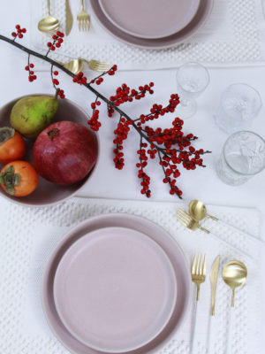 dinner plate powder rose mat ceramic xlarge