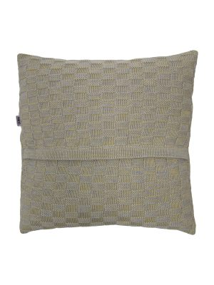drops mêlée citrus knitted cotton pillowcase xsmall