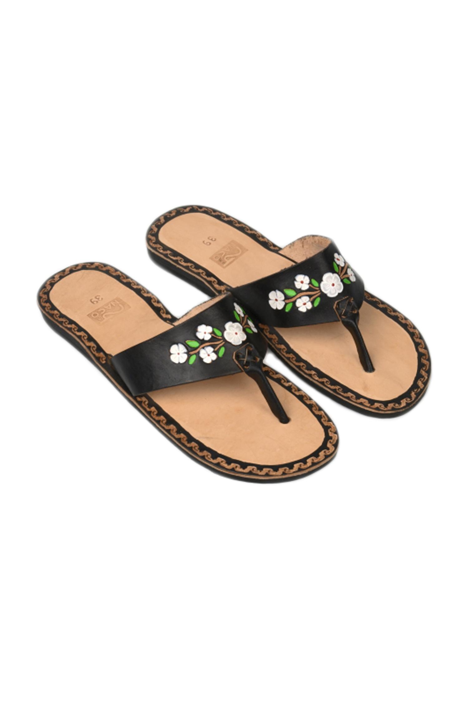 223a915dbb12 flor black leather flipflop – naco.shop