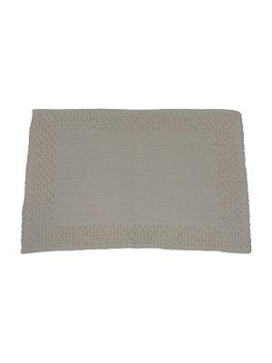 frame ecru woven cotton placemat small