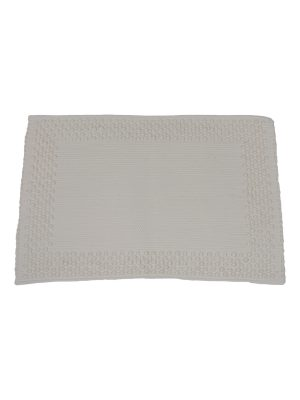 frame off-white woven cotton placemat small