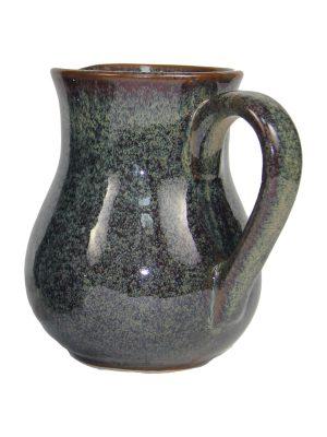 jug ochre glaze ceramic large