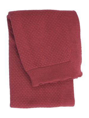 liz chillipepper knitted cotton little blanket small
