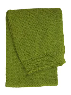 liz  knitted cotton little blanket small