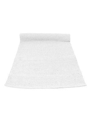nordic bebble grey woven cotton floor runner large