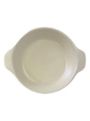oven plate milk glaze ceramic small