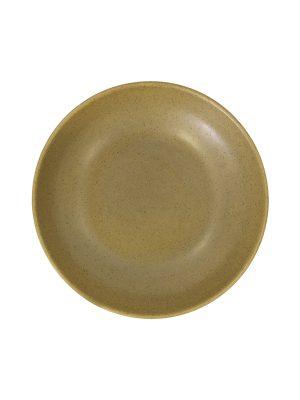 salad bowl mustard mat ceramic large
