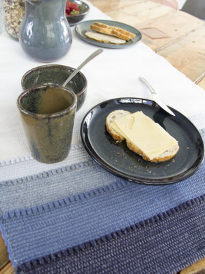 styling dining tableware shadow