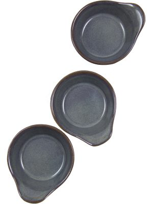 tapas dish celadon glaze ceramic small