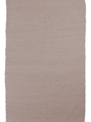 nordic powder rose woven cotton rug medium