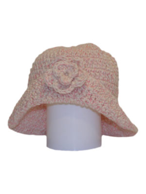 flor  knitted woolen hat