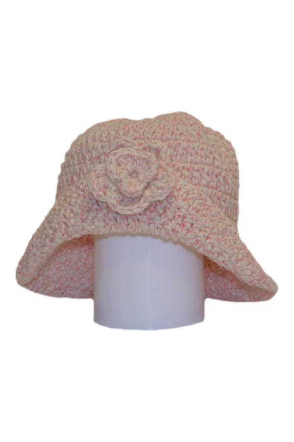 flor  knitted woolen hat