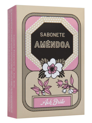 spa soap almond