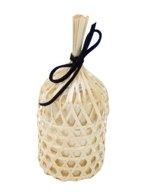 spa soap spicy bamboo basket