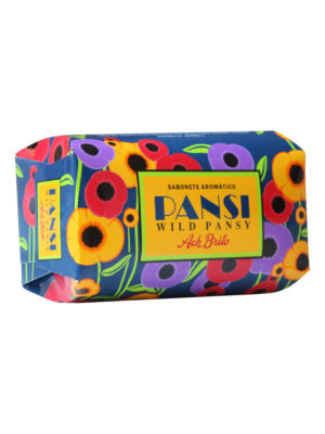 spa soap wild pansy