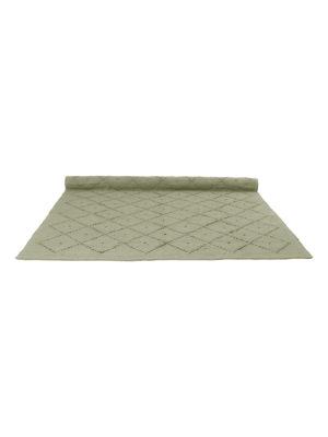 diamond olive green woven cotton rug xlarge