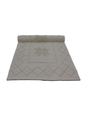 star linen woven cotton floor mat xxlarge