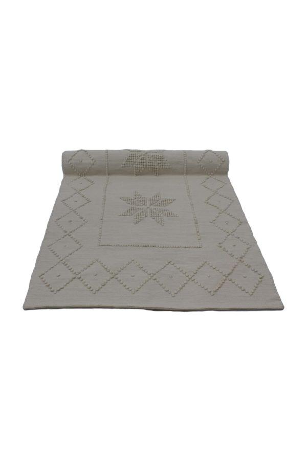 star linen woven cotton floor mat xxlarge