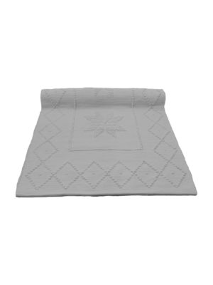 star white woven cotton floor mat xsmall