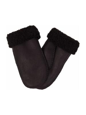 urban choc nappa sheepfur mittens (men) xlarge