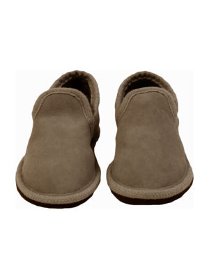 urban choc sheep fur mule medium