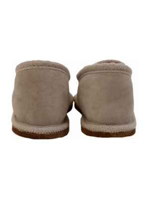 urban choc sheep fur mule xlarge