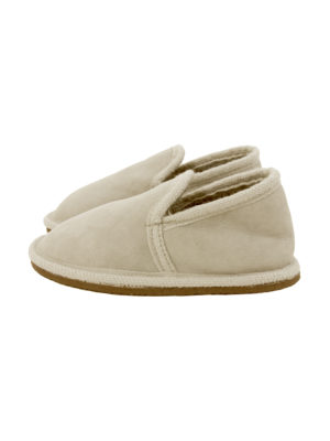 urban ecru sheep fur mule small