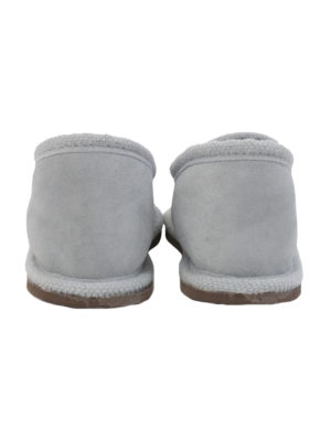 urban grey sheep fur mule xlarge