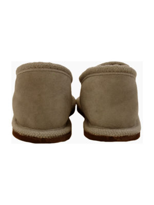 urban mocca sheep fur mule xlarge