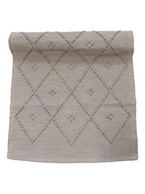 diamond mushroom cotton floor mat small