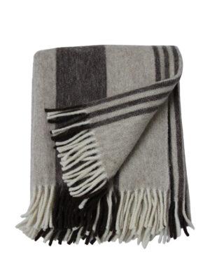 retro-two ecru deadstock-woven woolen throw xlarge